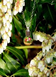 Lost World Mini Terrarium Necklace
