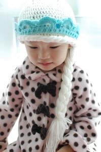 Elsa-Inspired Hat
